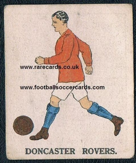 1923 Doncaster Rovers Battocks